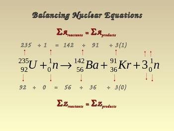 Chemistry - Nuclear Decay (Nuclear Chemistry)