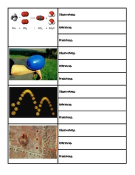 Chemistry Observation, Inference, and Prediction