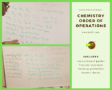 Chemistry Order of Operations - An approach to balancing c