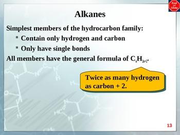 Chemistry - Organic Chemistry PowerPoint