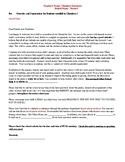 Chemistry Parent Letter (Fillable)