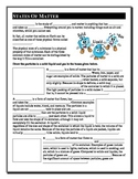 Chemistry Part 1 - States of Matter