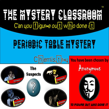 Mystery classroom teaching resources teachers pay teachers chemistry periodic table mystery the mystery classroom urtaz Images