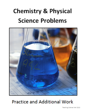 Chemistry (Physical Science) Worksheets with Answer Key