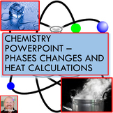 Chemistry PowerPoint: Phase Changes and Heat Calculations