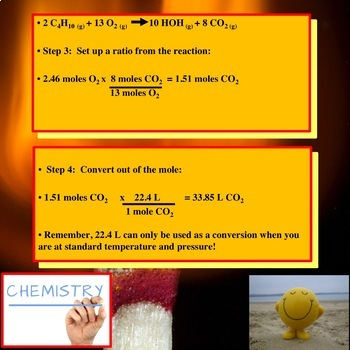 Chemistry PowerPoint: Stoichiometry and the Mole!