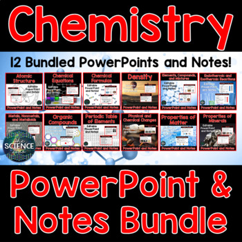 Chemistry PowerPoint and Notes Bundle