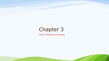 Chemistry PowerPoints