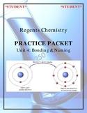 NGSS Regents Chemistry Practice Packet - Unit 4: Bonding & Energy