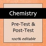 Chemistry Pre-test & Post-test