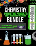 Chemistry: Predicting Products - Single Replacement BUNDLE - 4 Google Forms