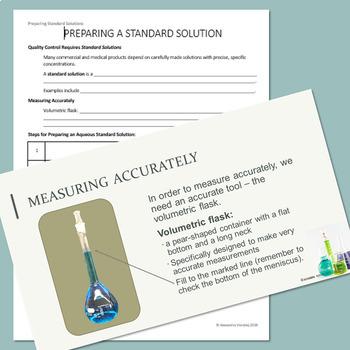 Chemistry - Preparing a Standard Solution