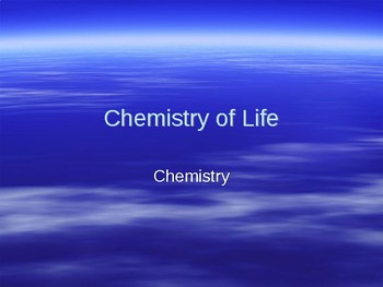 Chemistry Presentation