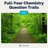 Chemistry Active Review Question Trails BUNDLE   Digital Resource