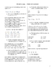 High School Chemistry Quiz - Chemical Reactions