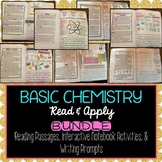 Chemistry Reading Comprehension Interactive Notebook BUNDLE