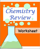Chemistry Review Worksheet