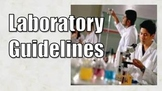 Chemistry Safety PowerPoint, Handouts and Quiz