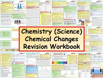 Chemistry (Science) Chemical Changes Revision Workbook