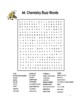 Chemistry Science Puzzles: 15 Word Search or Crosswords Gr 5-12