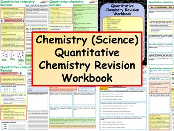 Chemistry (Science) Quantitative Chemistry Revision Workbook