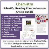 Chemistry Science Reading Article Bundle - Grade 8 and Up