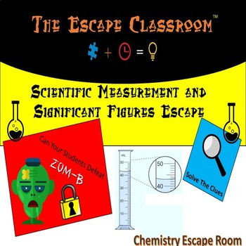 Chemistry: Scientific Measurement and Significant Figures Escape Room