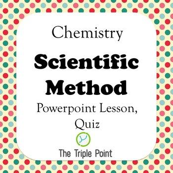 Chemistry: Scientific Method