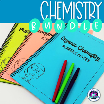 Chemistry Scribble Notes Bundle