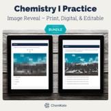 Chemistry Self-grading Digital, Editable Printable Pixelat