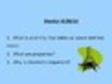 Chemistry Starter/ Bell Ringer Questions