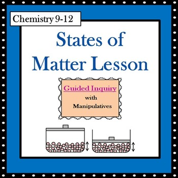 Chemistry States of Matter Guided Inquiry Lesson - Additional Materials