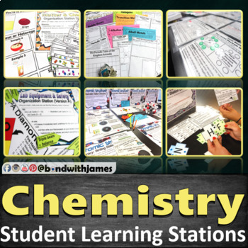 Chemistry Student Learning Stations