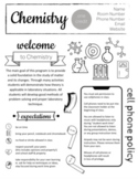 Chemistry Syllabus - Completely Editable!