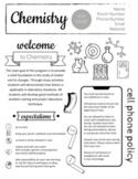 Chemistry Syllabus - Completely Editable!