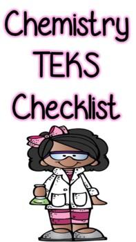 Chemistry TEKS Checklist