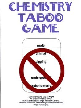 Chemistry Taboo