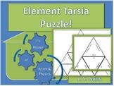Chemistry Tarsia Triangle Element Puzzle