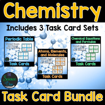 Chemistry Task Card Bundle