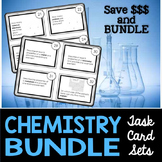 Chemistry Task Cards Bundle - Includes #1 and #2 at a Disc