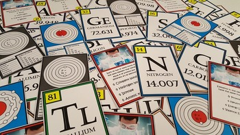 Chemistry Task Cards: Periodic Table