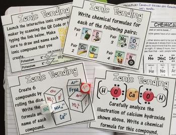 Chemistry Task Cards Series 9-in-1 Bundle