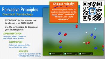 Chemistry Terminology PowerPoint Lesson & Student Guide Bundle