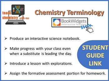 Chemistry Terminology Student Guide Link