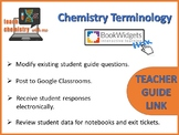 Chemistry Terminology Teacher Guide Link