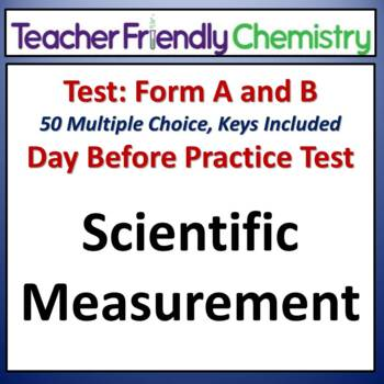 Chemistry Test and Practice Test: Scientific Measurement