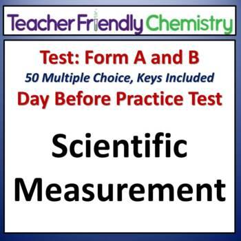 Chemistry Test and Practice Test: Scientific Measurement