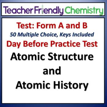 Chemistry Test and Practice Test: The Atom