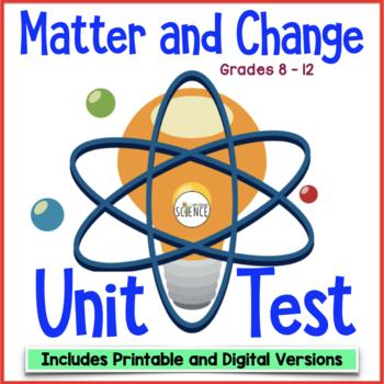 Matter and Change Unit Test
