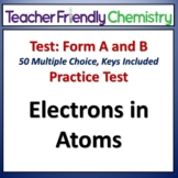 Electrons in Atoms: Chemistry Test and Practice Test